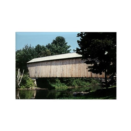 Corbin Covered Bridge Rectangle Magnet