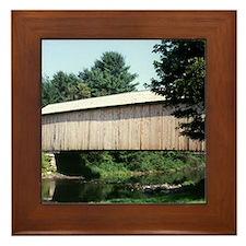 Corbin Covered Bridge Framed Tile