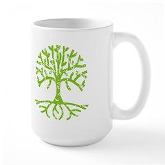 Distressed Tree III Mug