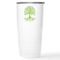Distressed Tree III Travel Mug