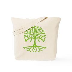 Distressed Tree III Tote Bag