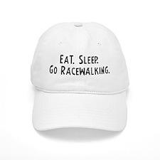 Eat, Sleep, Go Racewalking Baseball Cap