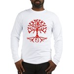 Distressed Tree I Long Sleeve T-Shirt