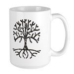 Distressed Tree II Large Mug