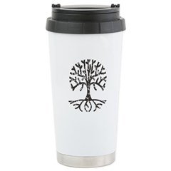 Distressed Tree II Travel Mug