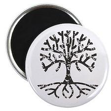 Distressed Tree II Magnet