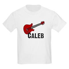 Guitar - Caleb Kids T-Shirt