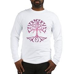 Distressed Tree V Long Sleeve T-Shirt