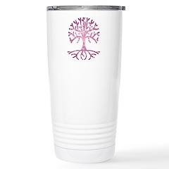 Distressed Tree V Travel Mug