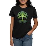 Distressed Tree VI Women's Dark T-Shirt