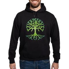 Distressed Tree VI Hoodie (dark)