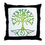 Distressed Tree VI Throw Pillow