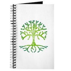 Distressed Tree VI Journal
