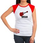 Guitar - Brian Women's Cap Sleeve T-Shirt