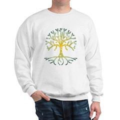 Distressed Tree VII Sweatshirt