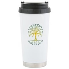 Distressed Tree VII Travel Mug
