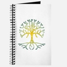 Distressed Tree VII Journal
