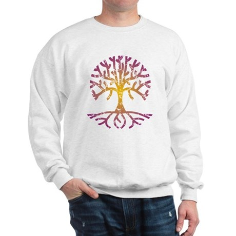 Distressed Tree VIII Sweatshirt