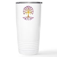 Distressed Tree VIII Travel Mug