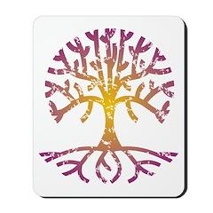 Distressed Tree VIII Mousepad