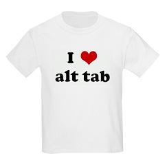 I Love alt tab T-Shirt