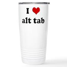 I Love alt tab Travel Mug
