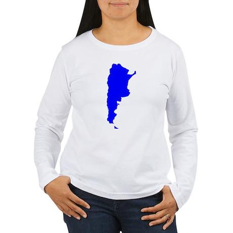 Argentina Women's Long Sleeve T-Shirt