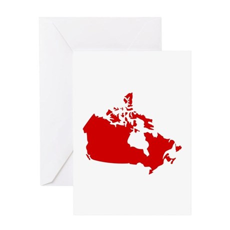 Canada Greeting Card By Stylicious