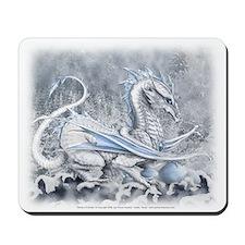 White Dragon Mousepad