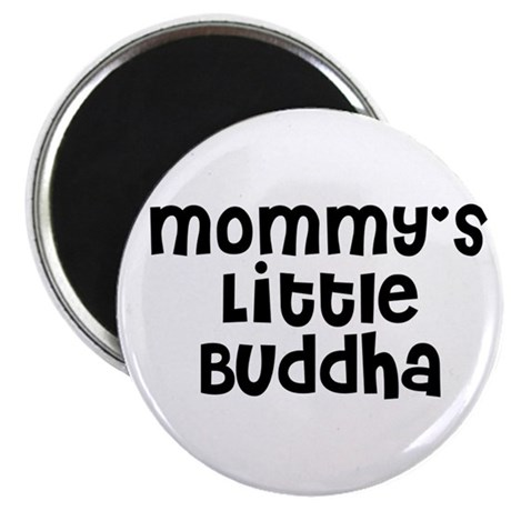"Mommy's Little Buddha 2.25"" Magnet (10 pack)"