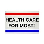 Health Care for Most Rectangle Magnet (100 pack)