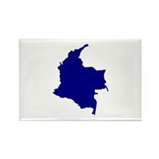 Colombia Rectangle Magnet (100 pack)