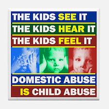 Abuse Tile Coaster
