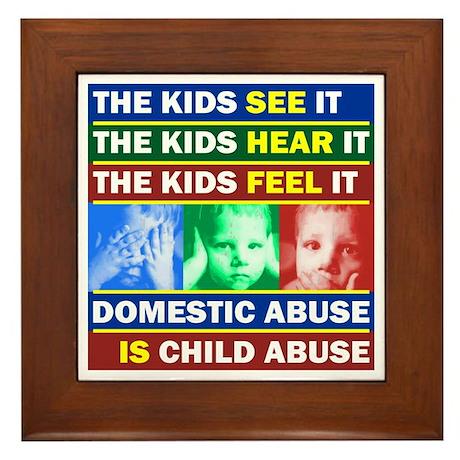 Abuse Framed Tile