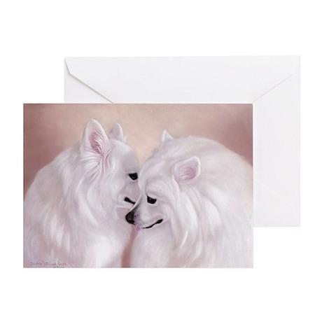 Martina & Valentino Single Greeting Card