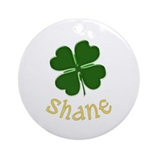 Shane Irish Ornament (Round)