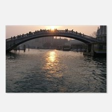venice sunset Postcards (Package of 8)