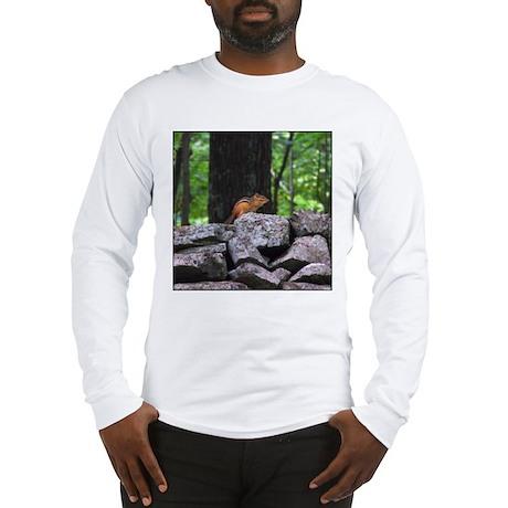 Cute Chipmunk Long Sleeve T-Shirt