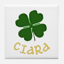 Ciara Irish Tile Coaster