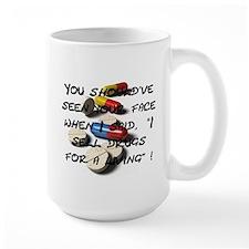 Seen Your Face Mug (Large)