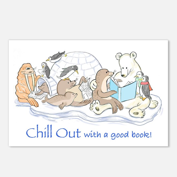 Chill out.... Postcards (Package of 8)