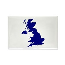 Great Britain Rectangle Magnet
