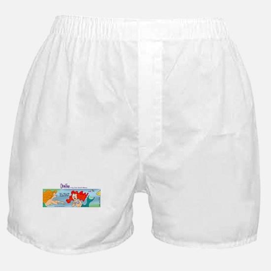 Cute Little mermaid Boxer Shorts