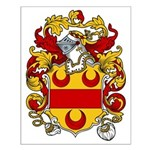 Boynton Coat of Arms  Small Poster