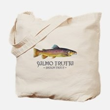 Salmo Trutta - Brown Trout Tote Bag