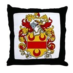Boynton Coat of Arms  Throw Pillow
