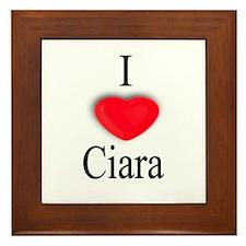 Ciara Framed Tile
