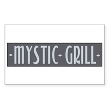 Mystic Grill Rectangle Decal