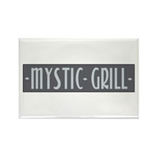 Mystic Grill Rectangle Magnet
