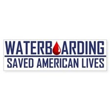 Waterboarding Bumper Bumper Sticker